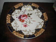 EARLY 19TH CENTURY ENGLISH HAND PAINTED & GILDED PLATE POSSIBLY HANDLEY
