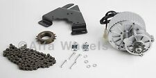 450W electric motor conversion kit f bicycle w control throttle sprocket chain