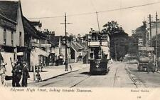 Edgware High Street towards Stanmore Middlesex Tram unused old pc Reeves