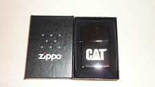 Black ice zippo lighter Caterpillar brand CAT Logo  lighter made in USA