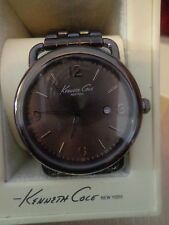 Kenneth Cole NY Watch, Men's Black Ion-Plated Stainless Steel 43mm - KC9256