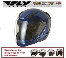 Fly Racing Tourist Multi Style Helmet Half Full Face Cruiser New 2013 Honda DOT