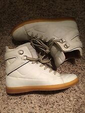 4 5 6 7 Maison Margiela X H&M White High Top Sneakers