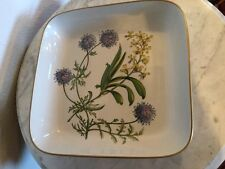 "SPODE Stafford Flowers""Gilia Aerides""Baking Casserole Made England Oven To Table"