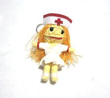 Naughty Nurse Voodoo String Doll Keychain Ornament Accessory (Thai handmade)