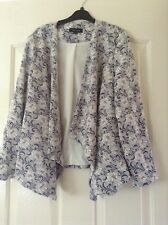 New Look Floral Jacket Size 12