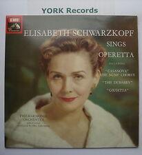 ASD 2807 - ELISABETH SCHWARZKOPF - Sings Operetta - Excellent Con LP Record