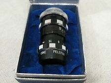 "Vintage CINE PELEPAR f 3.5 D Mount Lens 1 1/2"" in Box - GERMANY"