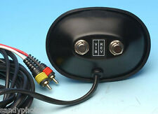 VINTAGE BLACK FOOTSWITCH FOR FENDER BLACKFACE/SILVERFACE AMPS 2 RCA PLUGS PEDAL
