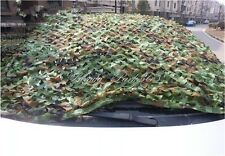 2x3M Hunt Shoot Camping Woodlands Blinds Army Camouflage Camo Net Cover Green