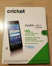 """Kyocera Hydro View C6742 Cricket -UNLOCKED- Waterproof GSM 5"""" 8GB Android New"""