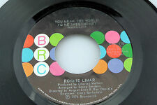 Ronnie Limar: You Mean the World to Me... / Naturally Stoned   [NEW & Unplayed]