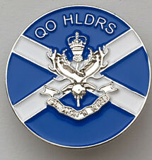 Queen's Own Highlanders (SEAFORTH AND CAMERONS) Regiment Colours Pin