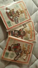 3 Dimensions Wire Whimsy Cross Stitch Ornament Kits Christmas Themed  two sealed