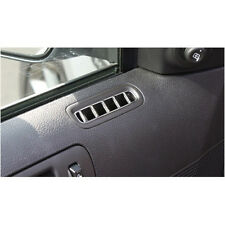 2010-2014 Mustang Interior Chrome Billet Door A/C Climate Vent Highlights Covers