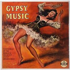 GYPSY MUSIC: Romanian Orchestra MGM 50s ORIG Beautiful VINYL LP NM- Exotic