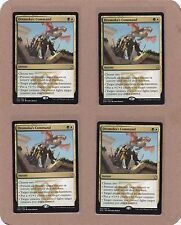 MTG - 4X Dromoka's Command X4 - Dragons of Tarkir - Rare NM/MT - Playset