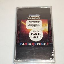 Trust Paris By Night Cassette NEW France French Hard Rock Band Bernie Bonvolsin