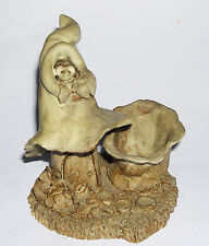 Julie Woods Studio Pottery - Toadstool House & Mouse Model - Fully Stamped.
