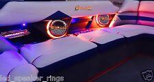 2pc Rockford Fosgate M262/M262B LED Light Speaker Rings