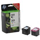 Genuine Original HP 301 Black & Colour Ink Cartridge For ENVY 5532 Printer