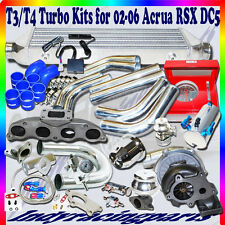 T3/T4 Turbo Kit 02-06 Acura RSX DC5 Type-S Coupe 2D 2.0L DOHC DIY Piping Kits