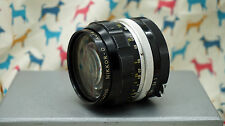 Nikon Nikkor-O Auto 35mm F/2 Camera Lens for Nikon Mount
