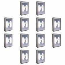 12PC PROMIER COB LED LIGHT SWITCH WHOLESALE LOT DEAL 12 WALL WIRELESS NIGHT