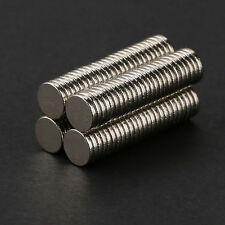 100pcs 5mm X 1mm Tiny Disc Rare Earth Neodymium N35 Permanent Strong Magnets