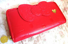Sanrio 40th Anniversary Hello Kitty Red Bow long Wallet Sanrio store Japan Women