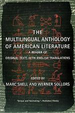 Multilingual Anthology of American Literature: A Reader of Original Texts with E