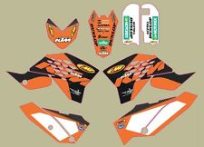 BRAND NEW KTM FACTORY OFFROAD TEAM GRAPHICS 65 SX XC 2009-2013 U6912016