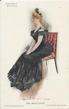 Postcard Artist Signed HC Christy 1906 The Debutante Private Mailing Card NrMint