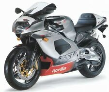 APRILIA TOUCH UP PAINT KIT RSV1000 MILLE 2002 - 03 LEAD GREY MET.