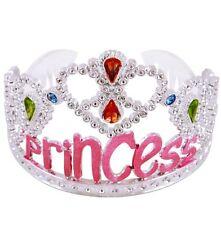 Kinder Mädchen Tiara Silber Farbe/Rosa Prinzessin Krone Kleiden Sie Oben Neu