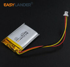 3.7V 470mAh Li-polymer li ion battery For MiVue366 GPS 582535 3wires connectors