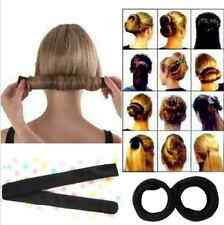 Magic Sponge Clip Hair Styling Twist Tool Foam Donut Bun Curler Maker Ring