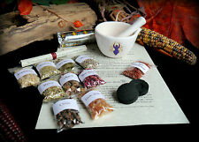 Witches Incense Making Kit with Mortar & Pestle  Wicca Pagan Goddess Gift