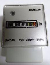 Grasslin UWZ48 220-240V 50hz 7 digit hour counter UWZ48A