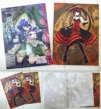 DATE A LIVE Anime Manga Notizblock Notiz 2er Set 26 Blatt Neu
