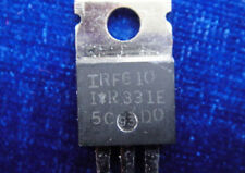 5pcs IRF610 N-Channel Power MOSFET 200V 3.3A 1.500 Ohm