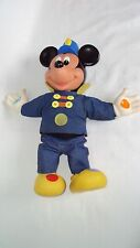 """Mattel Mickey Mouse Musical Band Leader Plush 14"""" Doll Toy Vintage 1990 Disney"""