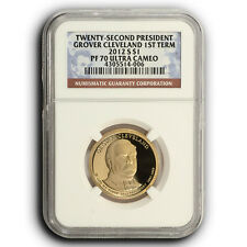 2012 S Grover Cleveland 1st Term NGC PF70 Presidential Proof One Dollar Coin