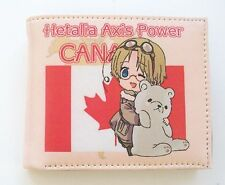 Axis Power Hetalia Vinyl Multi Compartment Uni Sex Wallet ~Hetalia Canada~