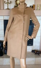 UNIQLO WOMEN BEIGE CASHMERE BLENDED STAND COLLAR COAT NWT SIZE M 149.90$