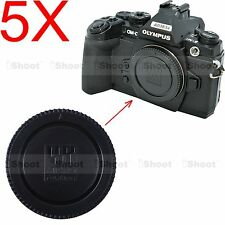 5x Camera Body Cover Cap for Panasonic Micro Four Thirds M4/3 LUMIX GH2 GH3 GH4