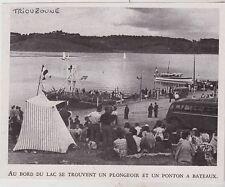 1948  --  AU BORD DU LAC DE LA RETENUE DE TRIOUZOUNE NEUVIC   3G725