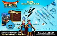 PS4 Game Dragon Quest Heroes Slime Collector's Edition new merchandise
