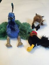 Folkmanis Hand Puppets LOT OF 3