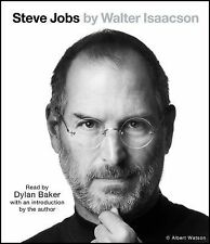 NEW - STEVE JOBS by Walter Isaacson - Audiobook Abridged on 7 CDs - New, Sealed